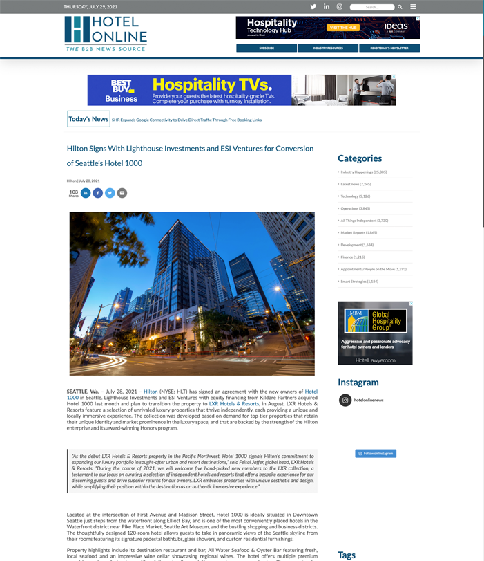 ESI Ventures | Press